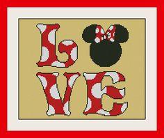 Mickey & Minnie MouseDisney Cross Stitch Pattern by MagicStitching