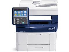 Xerox WorkCentre 3655/X Monochrome Printer, Scanner, Copier, Fax and email  Print Up to 1200 x 1200 dpi, Copy Up to 600 x 600 dpi  Print Speed Up to 47 ppm 8.5 x 11 in.; Up to 45 ppm A4 / 210 x 297 mm; Up to 36 ppm 8.5 x 14 in. / 216 x 356 mm  Recommended Average Monthly Print Volume Up to 15,000 pages; Monthly Duty Cycle Up to 150,000 pages  250 GB Hard Drive, 2 GB Standard memory