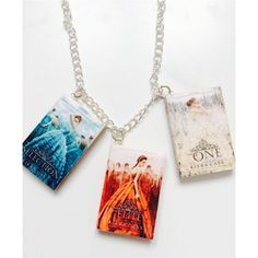 Die Auswahl-Trilogie-Halskette von Charm4Geeks auf Etsy