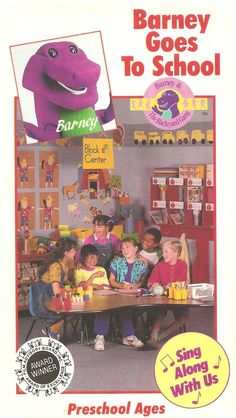Barney The Backyard Gang The BackYard Show VHS Books VHS - Barney backyard gang concert vhs