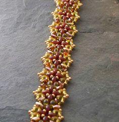 Beading Tutorial Corollarium Twin Bead by VCArtisanOriginals