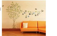 Tree wall murals on pinterest for Collant mural