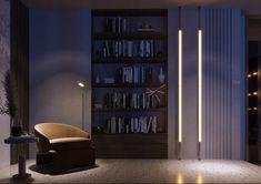 SHADES OF BEIGE on Behance Shades Of Beige, 3ds Max, Floor Design, Ground Floor, Contemporary, Modern, Architecture Design, Bookcase, Behance