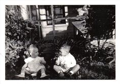 Two Children Eating Ice Cream in Vintage by PhotoArtbycnicely