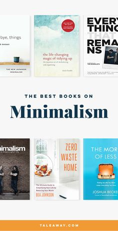 Best Minimalism Books - Books about minimalism for people who love reading. For more book ideas visit www.taleway.com to find books set around the world. Ideas for those who like to travel, both in life and in fiction. minimalism, books, minimalism books, how to become minimalist, minimalism lifestyle, minimalism home, minimalism for beginners, minimalism guide, minimalism how to, minimalism inspiration, books about minimalism
