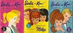 Vintage Barbie, Ken, & Midge