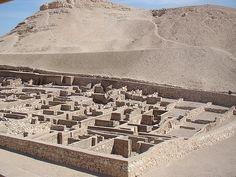 Parte reconstruida del poblado.