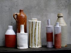 paula greif- inspiring me to go back to low fire clay!