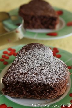 Torta allo yogurt e cacao - Best Hair Styles EVER Other Recipes, Sweet Recipes, Cake Recipes, Nutella, Cacao, Italian Breakfast, Italian Bakery, Torte Cake, Good Food