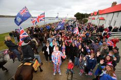 Falkland Islanders vote 99.8% in favour of remaining a British colony