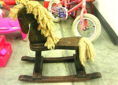 Kammy's Korner: Scraggly Rocking Horse to Shabby Rocking Horse