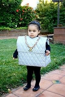 "This ""Chanel Purse"" costume is the cutest thing."
