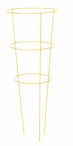 Panacea Products 89778 Heavy Duty Tomato Cage and Plant Support 33 by 12Inch Yellow ** Want additional info? Click on the image.