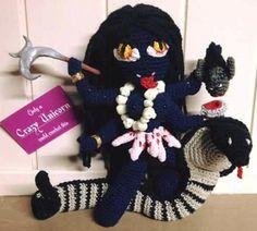 Kali by Tatianie Kiosia ~ Available @ https://www.elo7.com.br/feiticodocroche/loja