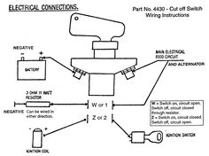 cca156e9e2d6952430989435ba817bfb kill switch wire tractor light switch wiring diagram google search ideas for battery cut off switch wiring diagram at nearapp.co
