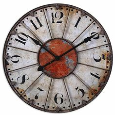 Uttermost Ellsworth Wall Clock * Want to know more, click on the image. Note: It's an affiliate link to Amazon.