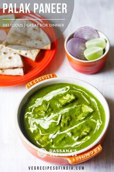 Palak paneer is delicious, healthy, and full of flavor. A traditional Indian recipe, this easy recipe tastes like what you would find in your favorite Indian restaurant. Paneer Recipes, Veg Recipes, Mushroom Recipes, Lunch Recipes, Indian Food Recipes, Vegetarian Recipes, Cooking Recipes, Ethnic Recipes, Paneer Dishes