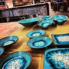 """101 tykkäystä, 7 kommenttia - Dock 6 Pottery (@dock6pottery) Instagramissa: """"Turquoise for days 😍 #dock6pottery"""""""