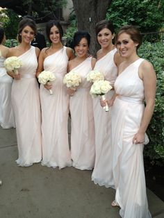 Bachelorette Ashley's Bridesmaids Don Badgley Mischka for Wedding