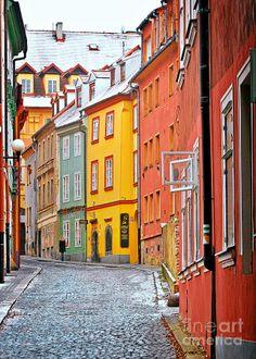 Cheb an old-world-charm, Czech Republic