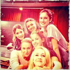 le groupe des fille