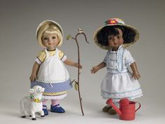 Tonner Collectibles Ann Estelle by Mary Engelbreit Dressed Dolls Little Bo Peep and Mistress Mary