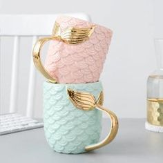 Probably the coolest mermaid t-shirts & jewelry. Check out the mermaid mugs, beach towels and home decor as well. Pink Mermaid Tail, Mermaid Cup, Mermaid Gifts, Mermaid Scales, Presents For Women, Cool Gifts For Women, Mugs Sharpie, Best Coffee Mugs, Funny Coffee