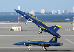 Blue angel take off