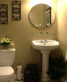 Bathroom, Sweet Modern Bathroom Interior Design With White Toilet Paper Also Cool Vanity Design: Inspiring Bath Ideas For Small Bathrooms