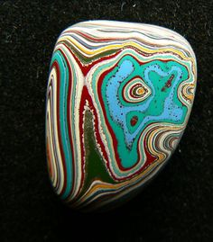 70's Fordite Cabochon by ForditeFanaticsUK on Etsy, £13.00