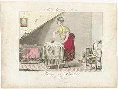 Misère et Vanité ou Rien qu'un (musée grotesque, no.22), anoniem, Aaron Martinet, 1817