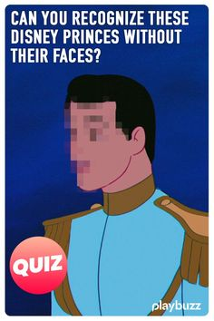 Can you guess the Disney Prince without his handsome face? Let's find out who your own Prince Charming will be! Prince Naveen, Prince Eric, Disney Quiz, Disney Pixar, Reindeer Names, Pet Monkey, Disney Princes, Handsome Faces