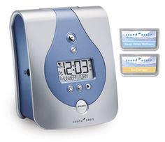 S-650-02 Sound Oasis Sleep Sound Therapy System with 2 sound cards: SC-300-01 and SC-300-02  Specifically developed for tinnitus sufferers. Helps circumvent tinnitus discomfort, blocks out irritating noises.