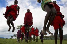 Masai jumping | Cottars Camp
