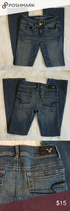 American Eagle Outfitters Jeans American Eagle Outfitters Jeans. Stretch. Kick Boot. Size 00/ Short.   *Please note that everything is second hand unless stated otherwise.*  *Cover shot sourced through Google.* American Eagle Outfitters  Jeans