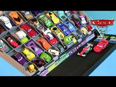 Disney Cars 2 Color Changers Meets Thomas & Friends the Tank Engine Portable Playset Pixar toys - YouTube