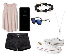 """Untitled #44"" by pisy88 on Polyvore featuring Gap, Converse, H&M, Samsung and Marc Jacobs"