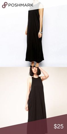 Cheap Monday Black Maxi Dress NWT Cheap Monday maxi dress. Can be worn casual or dressed up, also looks really cute and put together when belted. Easy dress to just throw on. Size XS but could easily fit up to a medium because it is flowy Cheap Monday Dresses Maxi