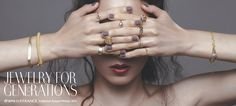 "drama H.P.FRANCE Collection Autumn Winter 2014 ""JEWELRY FOR GENERATIONS"" 