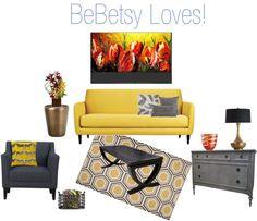 Living Room Design | BeBetsy #bebetsy