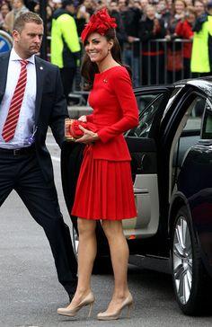 ira...: Vestidos rojos...y mucha mas moda en rojo!!