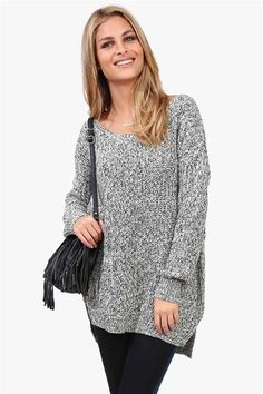 Looks like the coziest sweatshirt in the world.