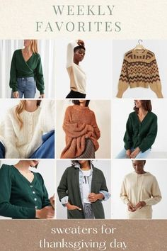 fall sweaters for thanksgiving - cardigan sweaters, fair isle sweater, sweater blazer, sweater hoodie, cropped sweater, fall style, women's style, fall fashion  @louellareese | LIKEtoKNOW.it Cardigan Sweaters, Fall Sweaters, Cropped Sweater, Sweater Hoodie, Female Fashion, Womens Fashion, Simply Fashion, Fashion Bloggers, Fashion Trends