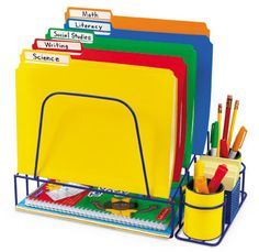 ~Joy in the Journey~: Tricks of the Trade Thursdays: Teacher Desk Organization