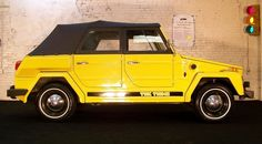 VW Thing- Yes, this is my dream car.