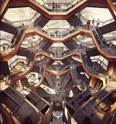 The Vessel concept art, Hudson Yards, NYC