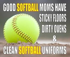 Softball mom's life!