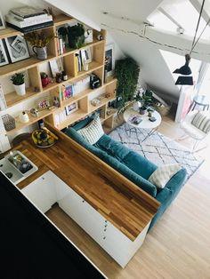 Comment créer une chambre supplémentaire dans un petit appartement à Paris ? - PLANETE DECO a homes world House Design, House, Small Spaces, Interior, Home, Small Apartments, Bedroom Design, House Interior, Home Deco