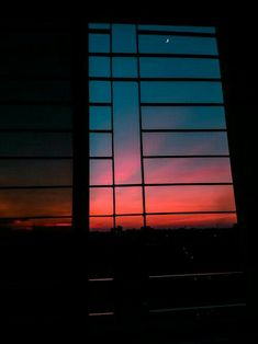 sunset sky view from A window [OC] - Pin