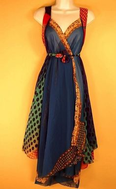 sari wrap dress - Google Search